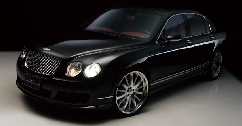 Executive Line Body Kit For Bentley Continental Flying