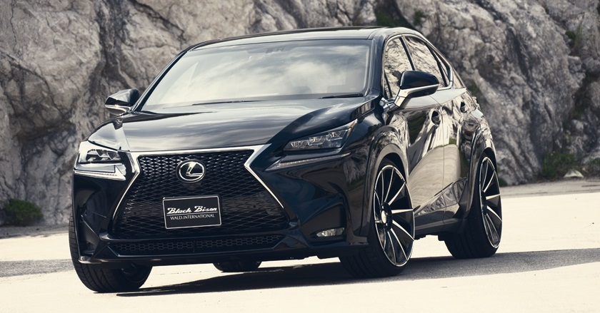 'Black Bison Edition' body-kit for Lexus NX | WALD Ukraine