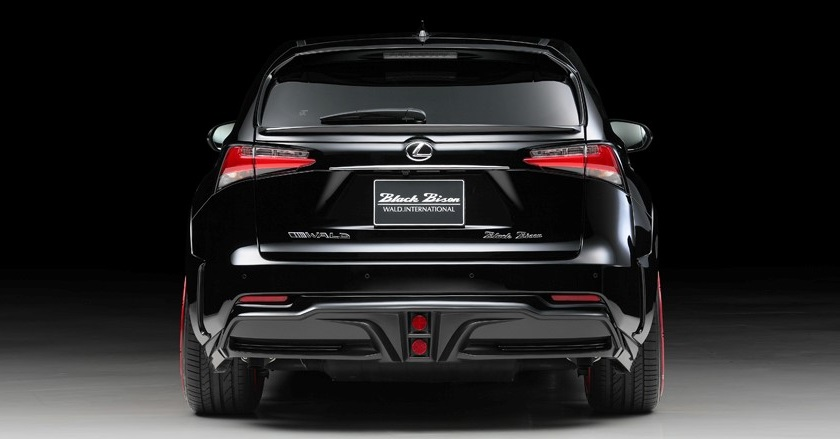Black Bison Edition Body Kit For Lexus NX WALD Ukraine