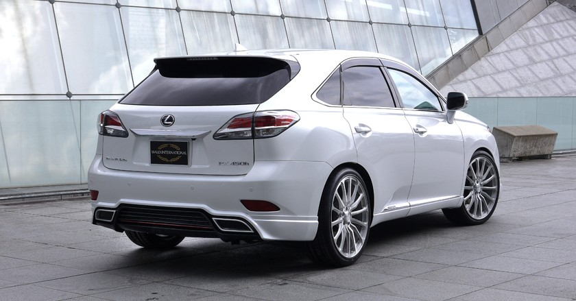 'Executive Line' body-kit for Lexus RX F-Sport '2012~'2015 ...