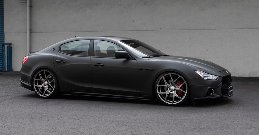 Maserati >> 'Black Bison Edition' body-kit for Maserati Ghibli | WALD Ukraine
