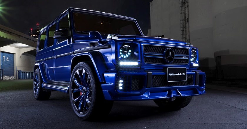 Mercedes benz g class body kits wald ukraine for Mercedes benz upholstery kits