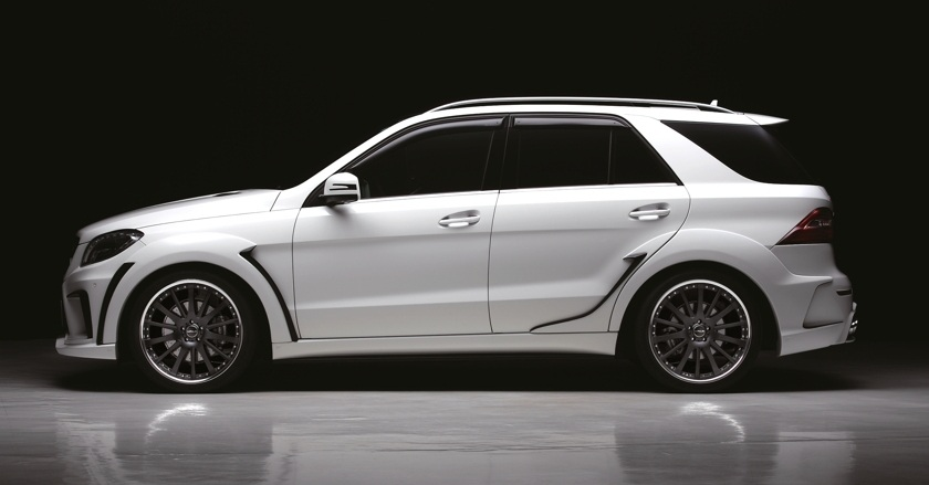 Black Bison Edition Body Kit For Mercedes Benz Ml Class