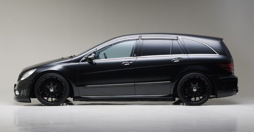'Black Bison Edition' Mercedes-Benz R-class W251 ~'2010   WALD