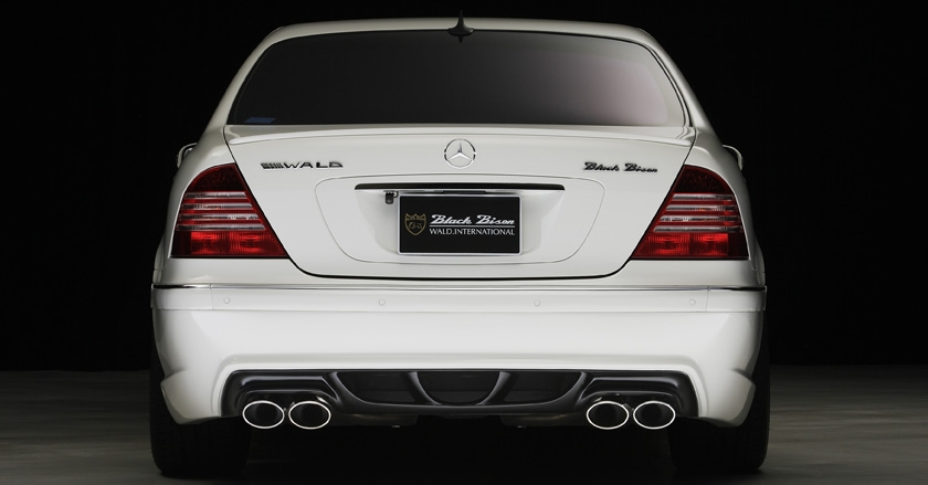 Black Bison Edition Body Kit For Mercedes Benz S Class