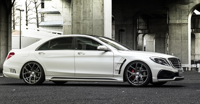 'Black Bison Edition' body-kit for Mercedes-Benz S-class ...