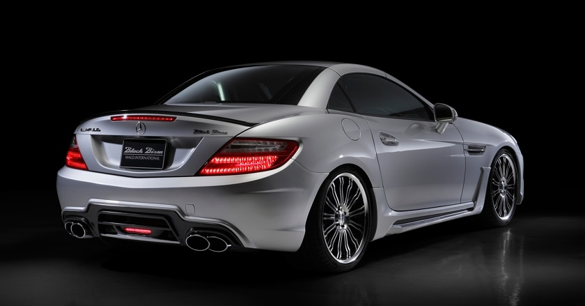 Mercedes Benz >> 'Black Bison Edition' body-kit for Mercedes-Benz SLK-class R172 | WALD Ukraine