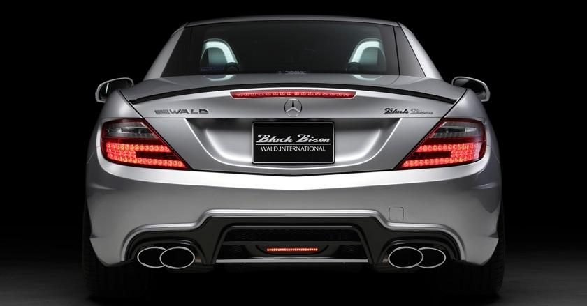 Ukraine >> 'Black Bison Edition' body-kit for Mercedes-Benz SLK-class R172 | WALD Ukraine