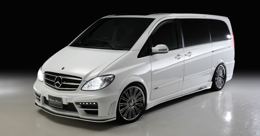 Black Bison Edition Body Kit For Mercedes Benz V Class