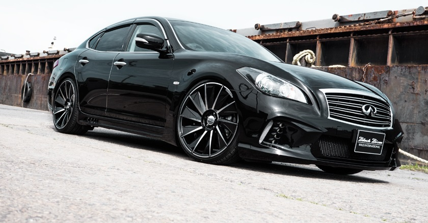 Black Bison Edition Body Kit For Nissan Fuga Infiniti